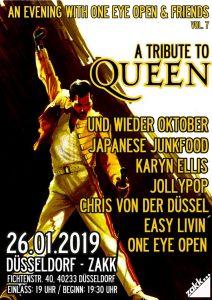 A Tribute to Queen @ zakk Düsseldorf | Düsseldorf | Nordrhein-Westfalen | Deutschland